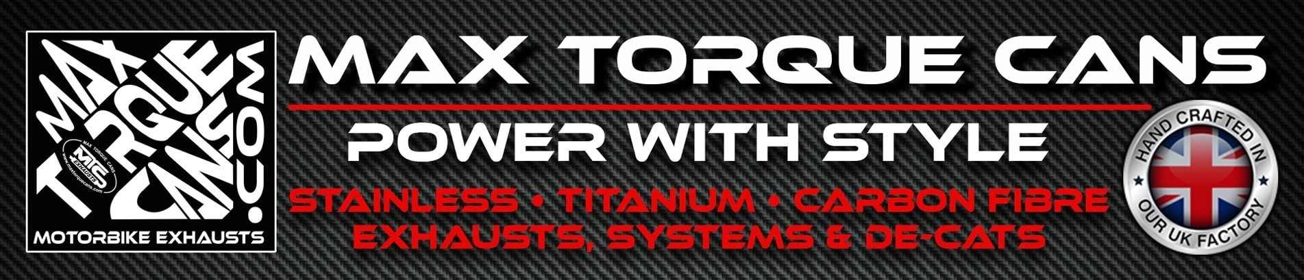 Max Torque Cans Web Banner