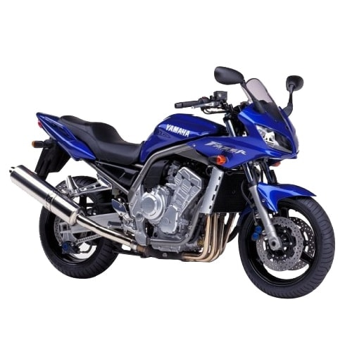 Yamaha FZS Fazer 600 Fazer600 Round Coloured Titanium Exhaust Can Road Legal